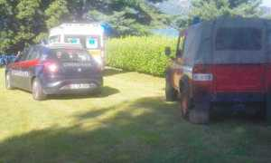 ambulanza vigili carabinieri lago