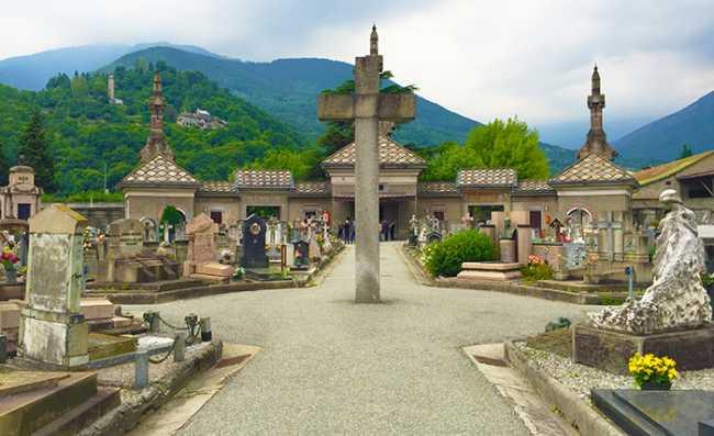 cimitero domo sfondo