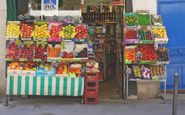bottega negozio frutta