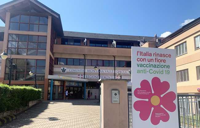 centro vaccinale counita montana domo