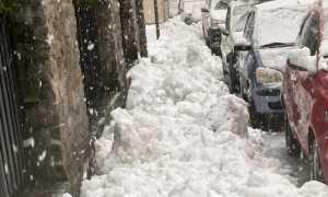 disagi neve domo marciapiede pieno dic 20