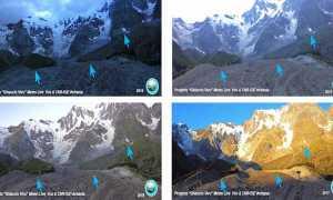 ghiacciaio belvedere confronti mix 17